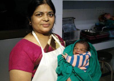 newborn at sai hospital
